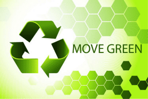 move green graphic