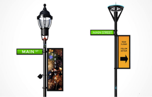 talking streetlamps