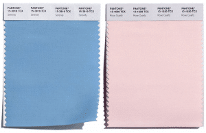 Pantone's Colors of the Year 2016