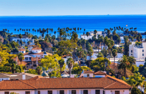 A look at Santa Barbara from the hills