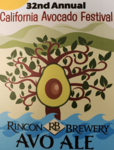 California Avocado Festival Poster