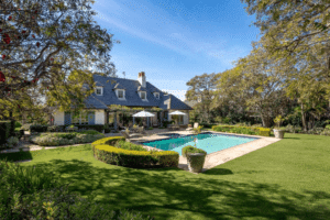 Montecito home for sale, perfect location for a lawn party