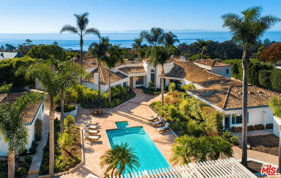 Real Estate is part of the arts and culture in Santa Barbara. This amazing estate is for sale.