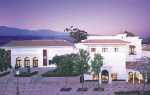 Stylized image of the Santa Barbara Museum of Art