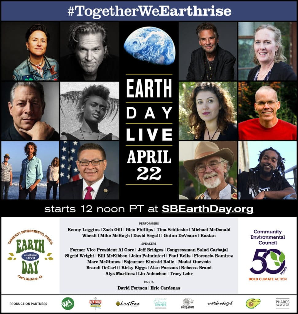 Poster for Santa Barbara Earth Day 2020