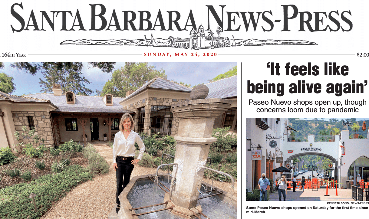 Front page of Santa Barbara News_Press